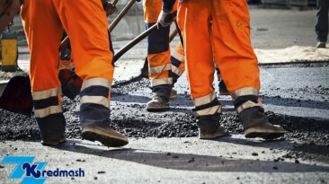 PrJSC Kredmash equipment for patching roads