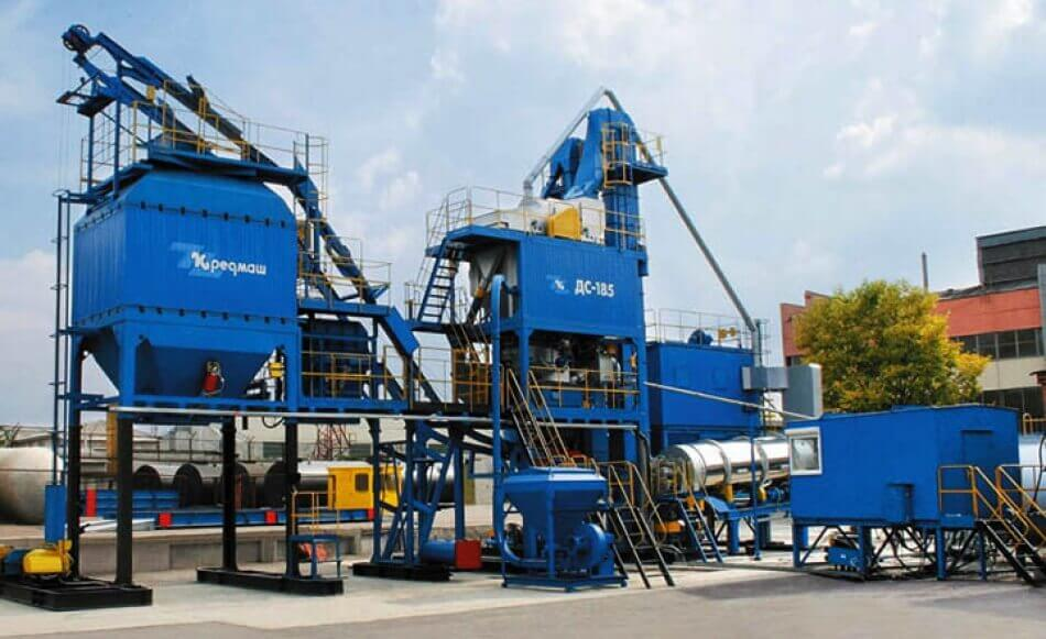 Mini asphalt plant: differences from fixed and mobile one