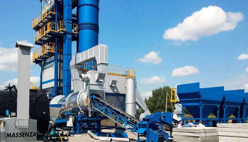 Asphalt plant and how it works