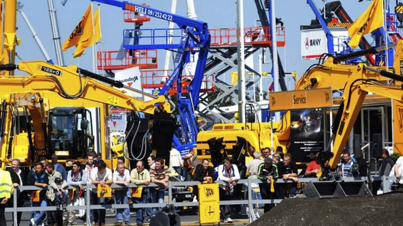 Exhibition Intermat: advanced technologies of road construction